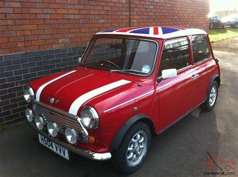 Mini Cooper 1990 by 1990 Rover Mini Cooper Red White