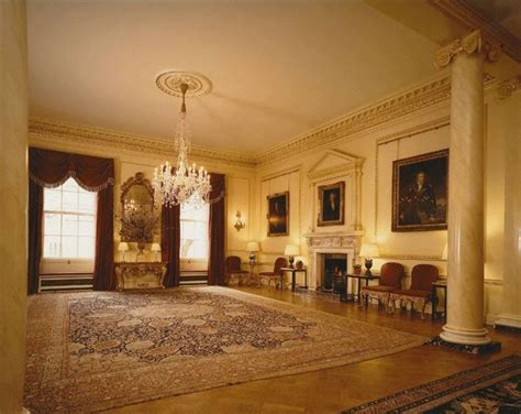 10 Downing Flat Floor Plan - restorations of state rooms at 10 downing