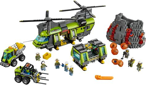 Set Lego city volcano explorers brickset lego set guide and database