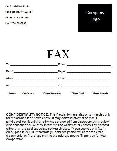 Fax Cover Letter Generator Fax Cover Letter Design Maker By Zillion Designs