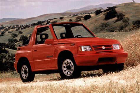1990 98 suzuki sidekick consumer guide auto
