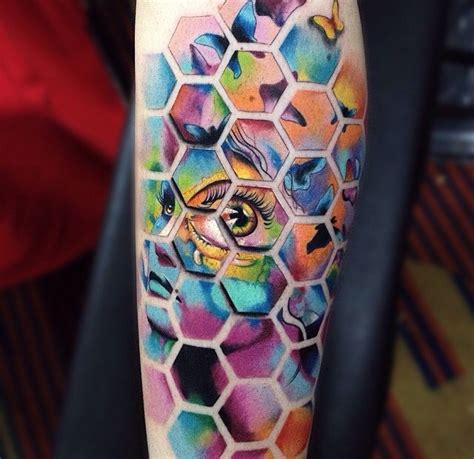 psychedelic tattoo awesome psychedelic by alex bruz