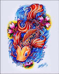 koi fish drawing color my koi fish by arrigumdrop on deviantart
