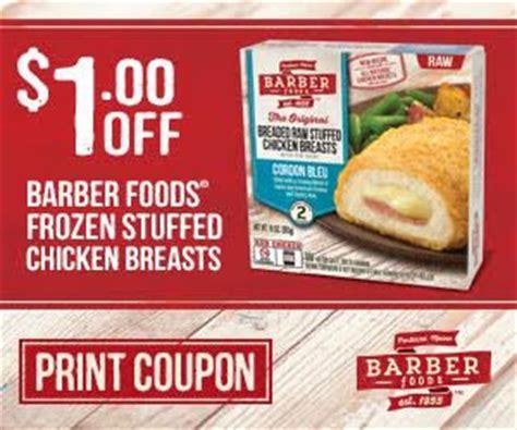 barber food printable coupons barber foods coupon seriously free stuff