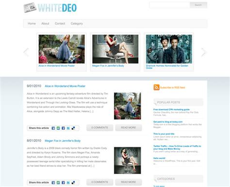60 awesome new wordpress themes