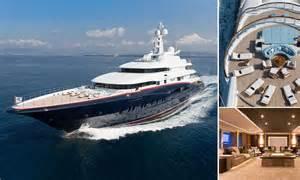 yacht nirvana luxury yacht nirvana spas cinemas and even a reptile