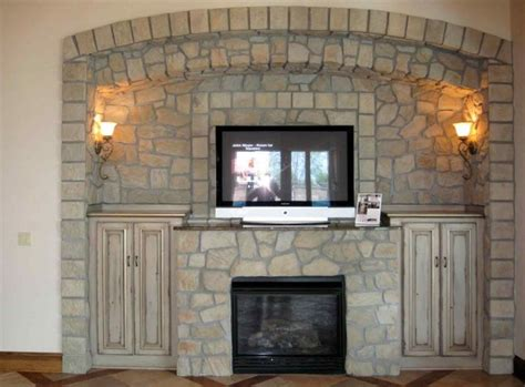 Idea Interior Design fireplace adorable awesome electric stone fireplace