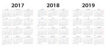 european 2018 calendar royalty free stock photos image