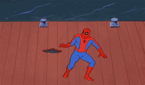 Spiderman Meme Gif - spider man gifs find share on giphy