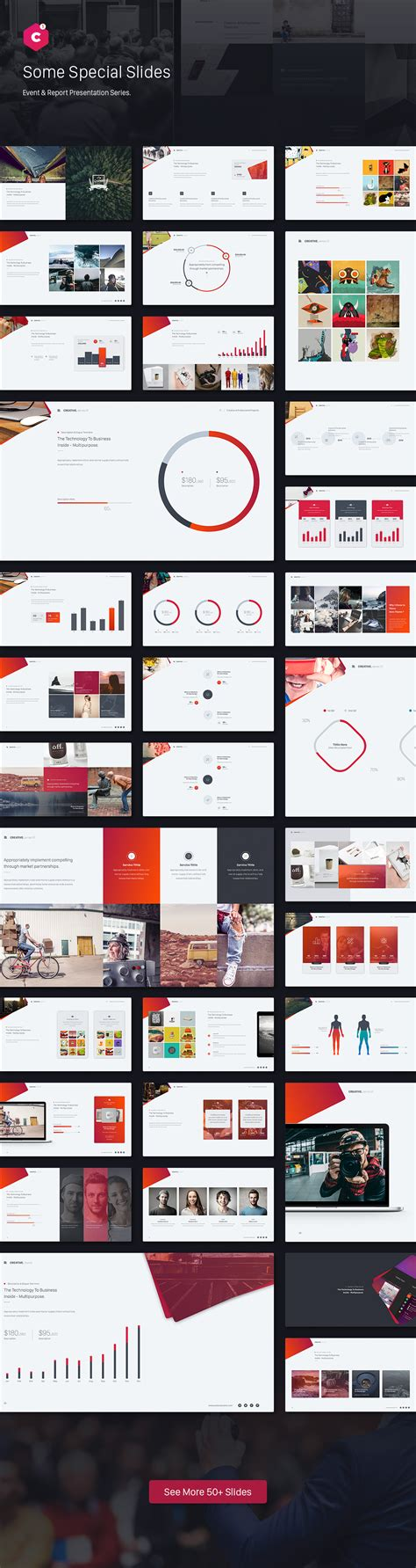 themes for report presentation creative powerpoint theme event report theme series by