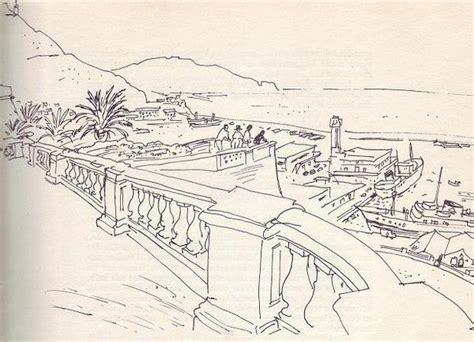 Sketches D Algerie by Peinture Alg 233 Rie Oran La Promenade De L 233 Tang Dessin De