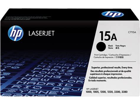 hp 15a black original laserjet toner cartridge hp