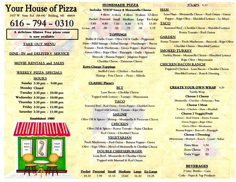 rehoboth house of pizza rehoboth house of pizza house plan 2017