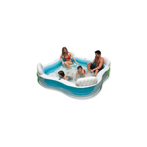 piscine avec siege piscine gonflable familiale avec si 232 ges