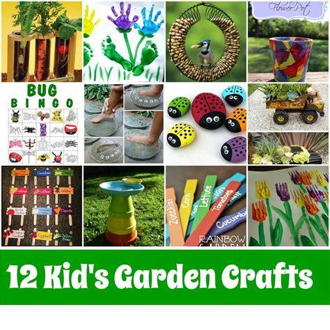Craft Ideas For The Garden Kid S Garden Crafts Roundup Mother2motherblog