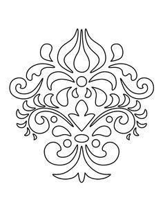 Masker Diapro Corak Polkadot aspen leaf pattern use the printable outline for crafts creating stencils scrapbooking and