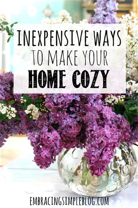 18 easy ways to make your home cozy for fall vogue inexpensive ways to make your home cozy embracing simple