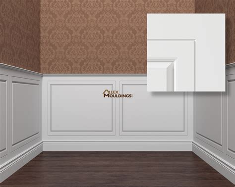 Wainscoting Panels by Wall Panels Wainscoting Raised Recessed Flat