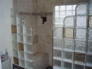 glass block shower contemporary bathroom detroit