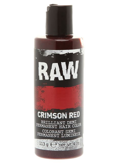 what is raw hair color with pictures wisegeek clear raw crimson red demi permanent hair color hot topic