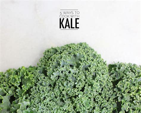 5 ways to cook with kale