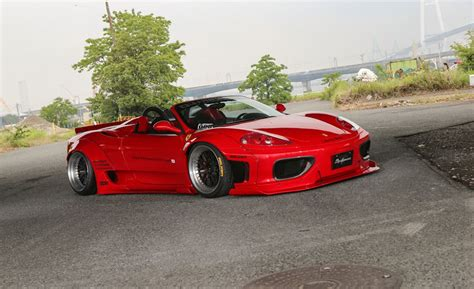 Ferrari 360 Tuning by Tuningcars Liberty Walk Ferrari 360 Wide Body Kit