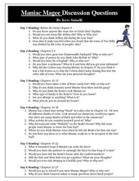 maniac magee book report 21 best images about maniac magee on