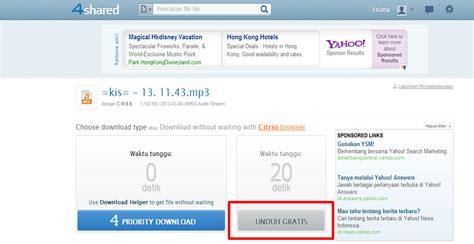 4shared download lagu cara mudah dan cepat download lagu di 4shared com dengan