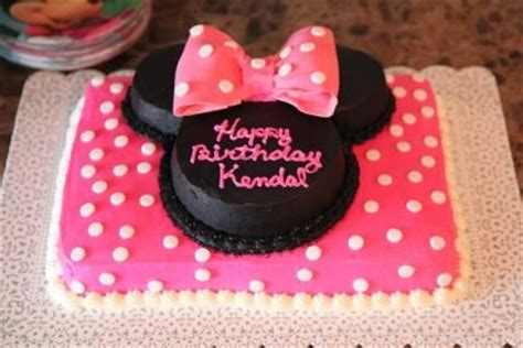 minnie mickey mouse birthday party decorations cake ears  disney birthday party