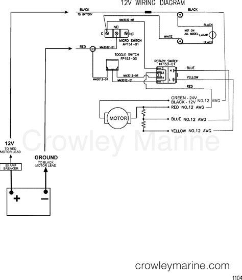 wire diagram model 752 12 volt 2000 motorguide 12v