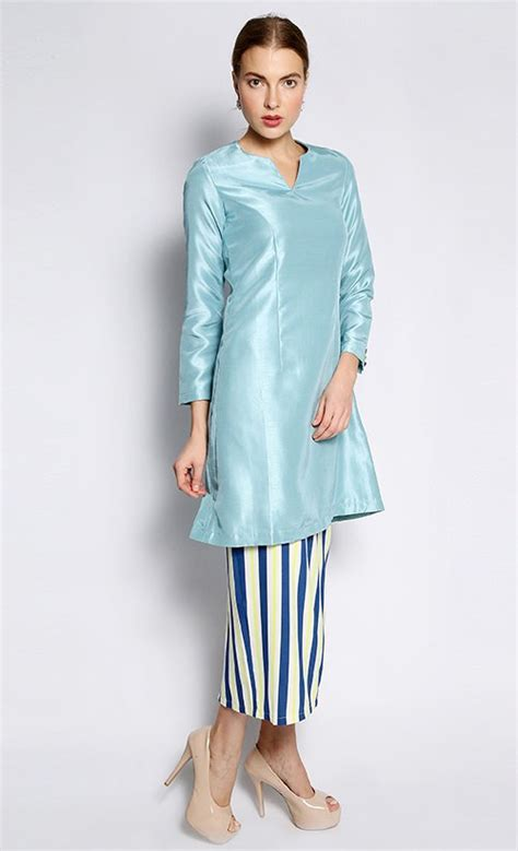 Trend Baju Maxi Pashmina Uk L Hijau 1 uruguay kurung pahang in light blue fashionvalet