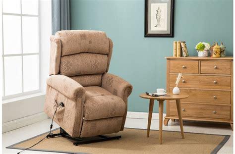 rise recliner chairs manhattan fabric rise recliner chair birlea