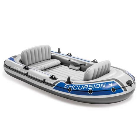 dinghy boat seats rubber dinghy inflatabe boat four seats intex 68324