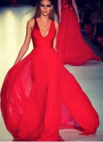 dress red dress red v neck formal dress clothes