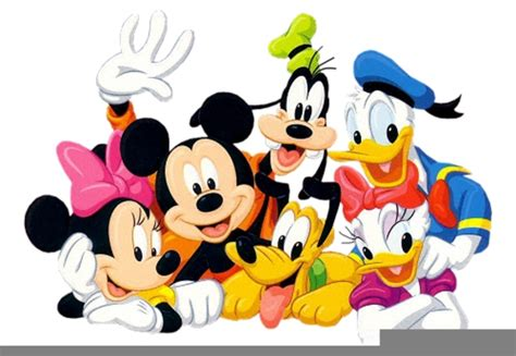 disney mickey and friends clipart free images at clker vector clip royalty
