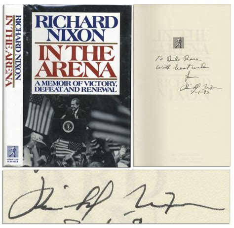 richard nixon the books lot detail richard nixon signs and inscribes a