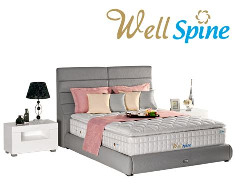 Kasur Bed Point theraspine kasur pocket type well spine