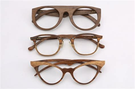 sayon a collection of wood frame glasses from new