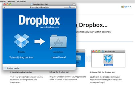 dropbox installer mac ayo install dropbox cloud storage gratis untuk sharing