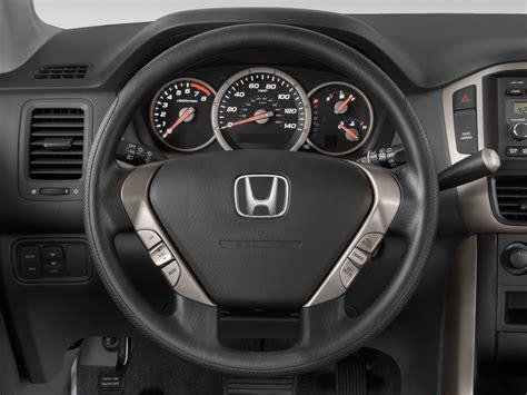 2008 honda pilot interior 2008 honda pilot steering wheel interior photo
