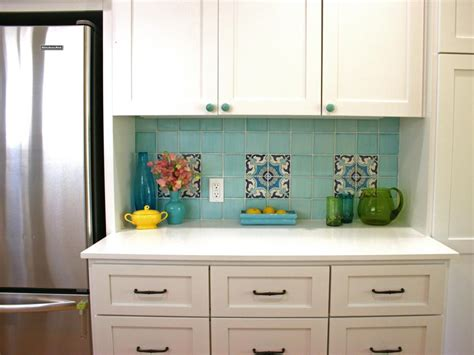 kitchen with custom mosaic glass cabinet hardware by uneek pictures of kitchen backsplash ideas from hgtv hgtv