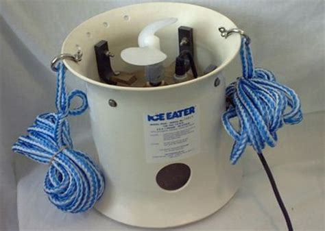boat dock ice eater boat deicer power house ice eater deicer used around