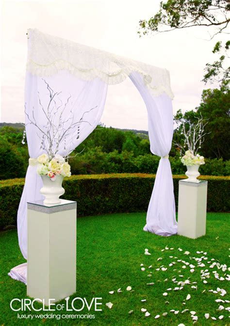 Wedding Arch Hire Gold Coast by Garden Weddings Hire Styling Packages Decorator