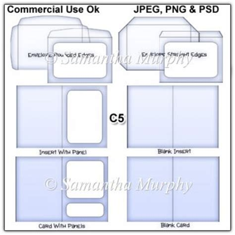 c5 envelope template free c5 envelope card insert templates commercial use 163 3 50