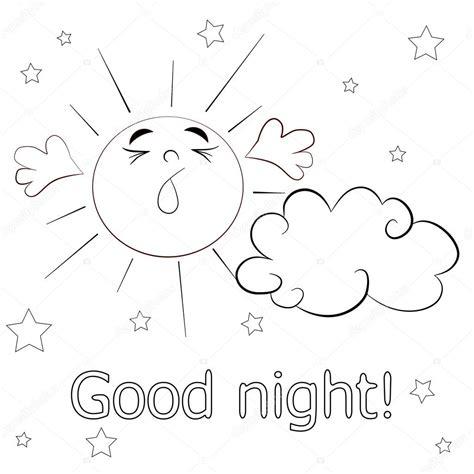 imagenes en ingles good night cart 227 o de boa noite vetor de stock 169 vitasunny 64613285