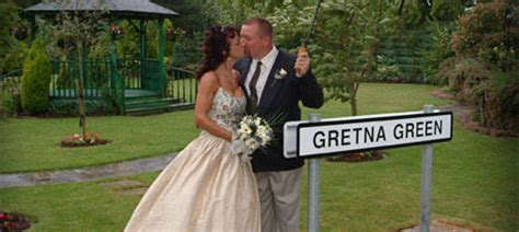 Gretna Green Wedding