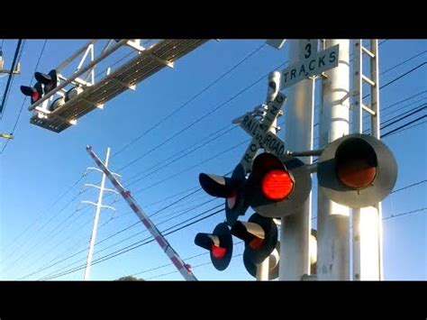 when sharing the road with a light rail vehicle you jackson road ca 16 railroad crossings with train fast