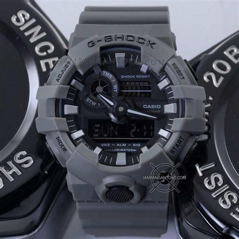 Casio Gshock Ga 201rd Ori Bm g shock ga 700uc 8a abu abu ori bm toko jam tangan
