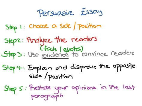 Persuasive Essay One by What Is A Persuasive Essay