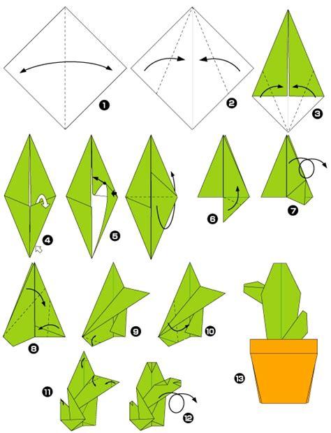Origami Cactus - origami de cactus